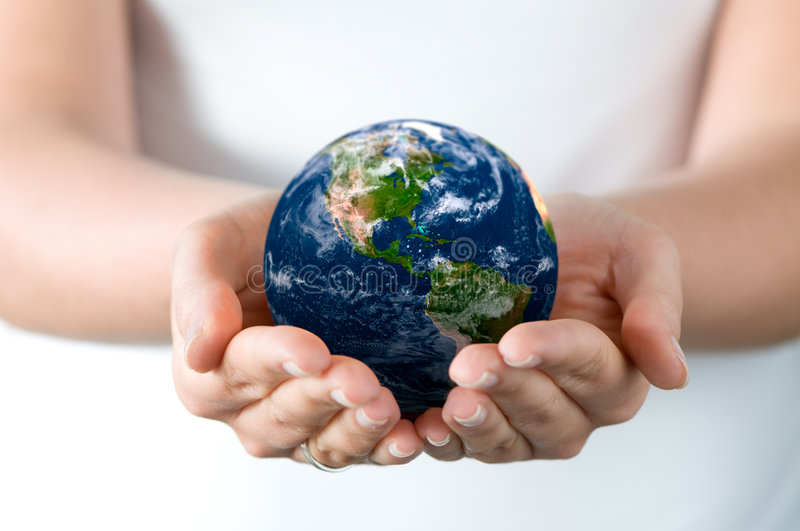 Download Holding world stock image. Image of warming, power, universe - 4548881