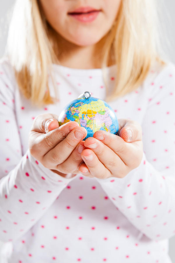 Download Holding world in hands stock photo. Image of caring, holding - 28363850