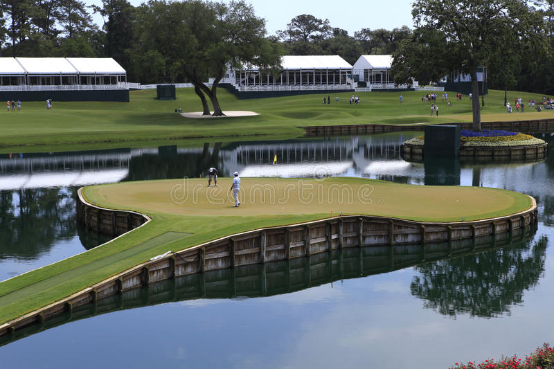 Download Hole 17, The Players, TPC Sawgrass, FL Editorial Stock Photo - Image: 24721443