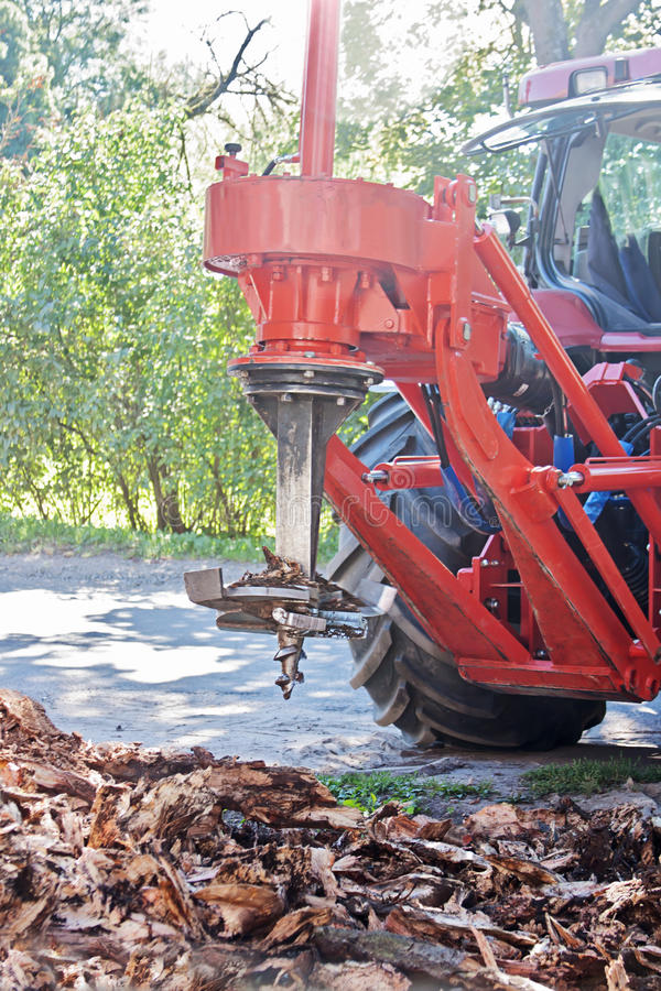 Hole digger royalty free stock photography