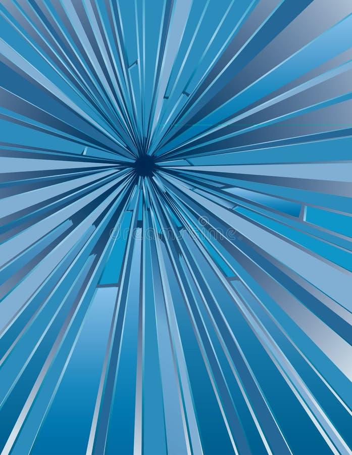 Hole glass royalty free illustration