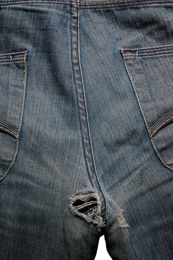 Download Hole in jeans stock image. Image of indigo, abstract - 22447519