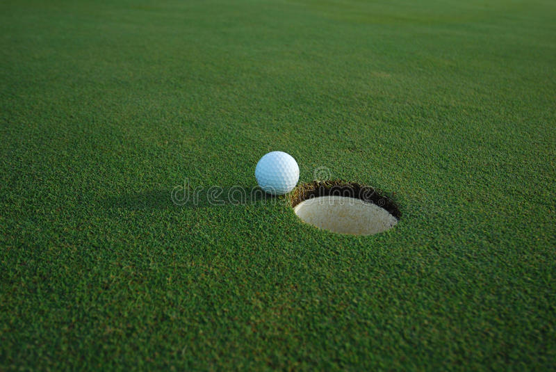 Hole In One stock photography