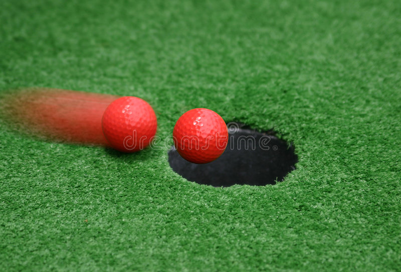 Download Hole In One stock photo. Image of green, shoot, ball, hole - 164678