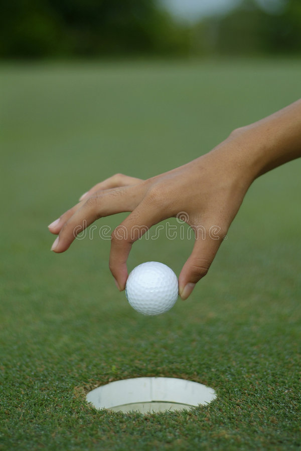 Download Hole-in-one Royalty Free Stock Photo - Image: 979985