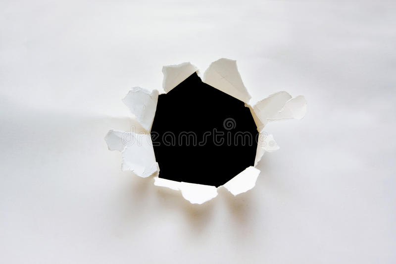 Download Hole on paper background stock photo. Image of element - 13972594