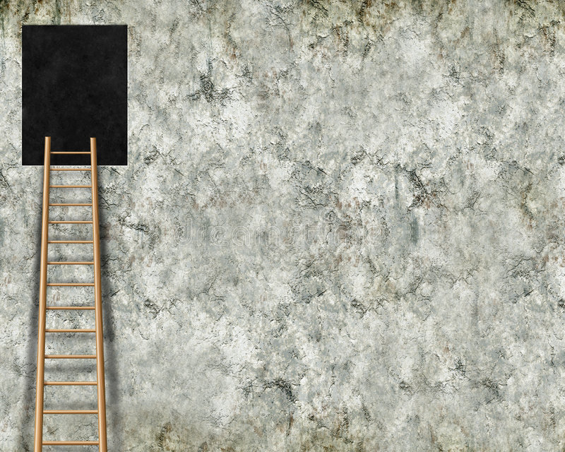 Download Hole in wall with ladder stock illustration. Image of black - 7660816