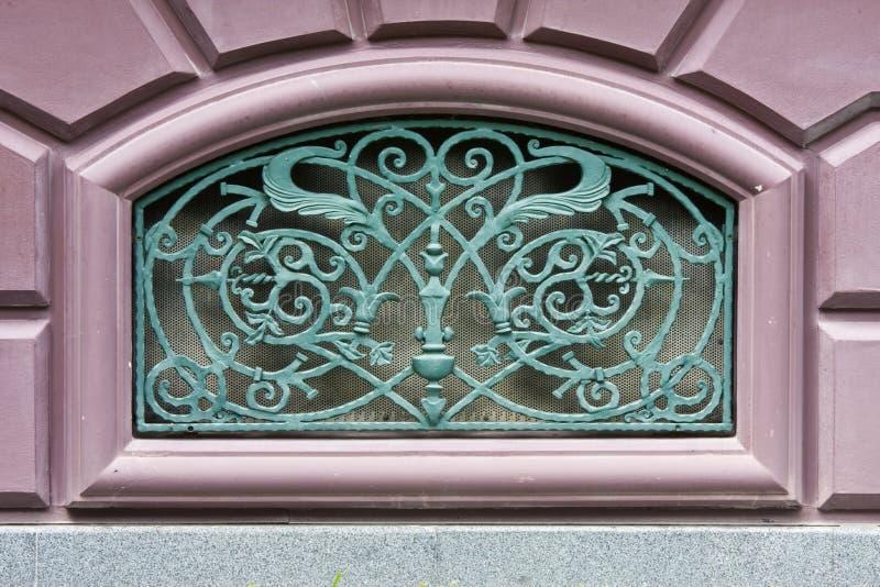 The hole window of palace