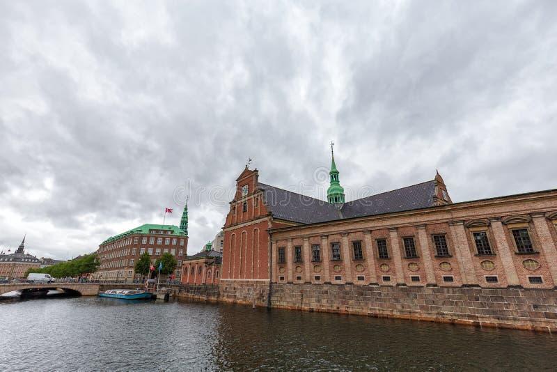 Holemns Kirke i kanał fotografia stock