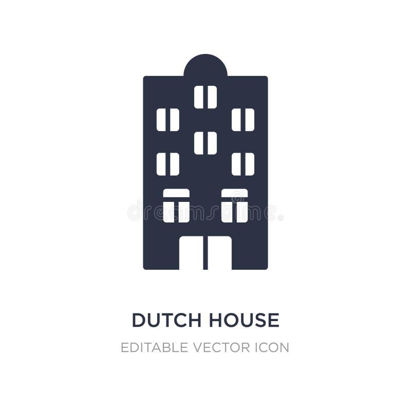 holender domowa ikona na białym tle Prosta element ilustracja od budynku pojęcia ilustracja wektor