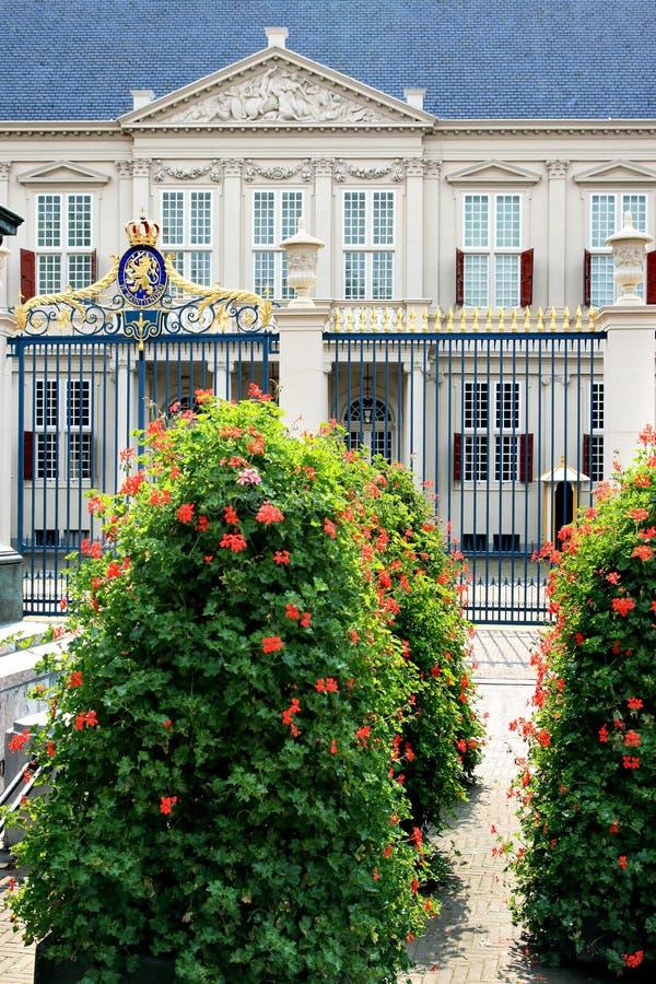 holender kwitnie Hague noordeinde pałac obrazy royalty free