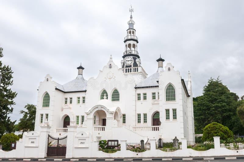 Holender Reformowany Kościelny Swellendam fotografia royalty free
