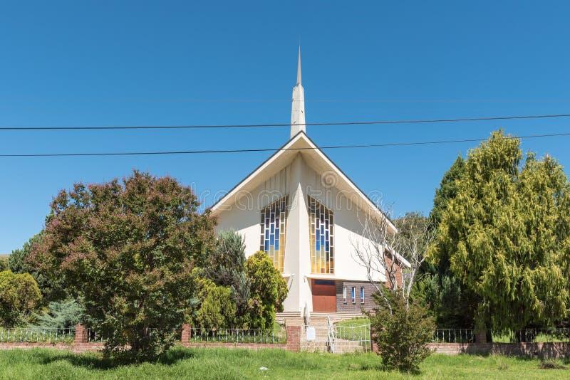 Holendera Reformowany kościół w Matatiele w Wschodnim przylądku fotografia royalty free