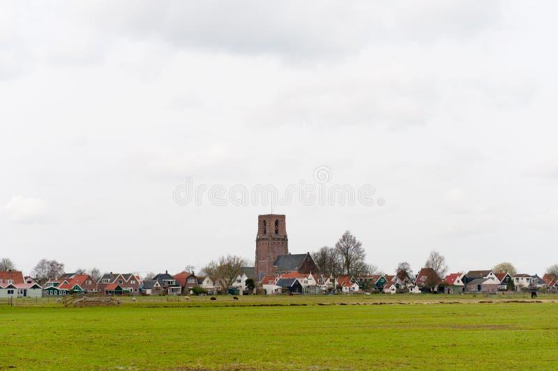 holenderska mała typowa wioska fotografia royalty free