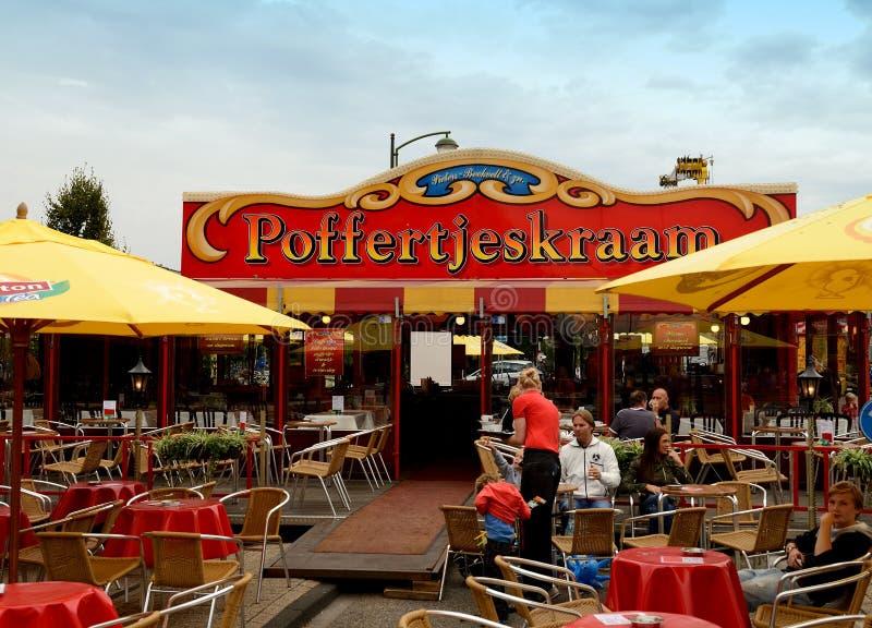 Holenderski blinu dom zdjęcia stock