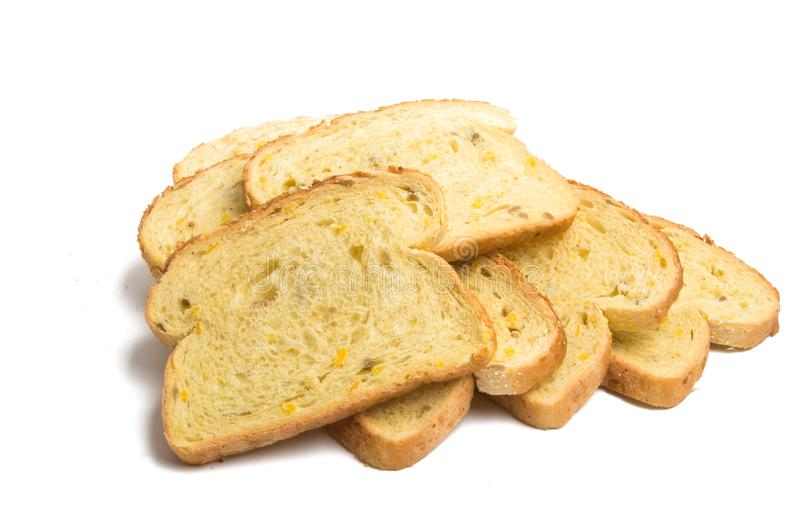 Holenderski chleb odizolowywający zdjęcie stock