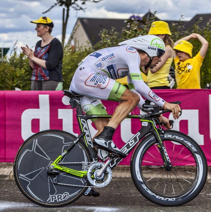 Holenderski Cyklista Albert Timmer Fotografia Editorial