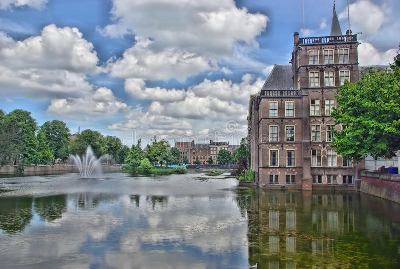Holenderski parlament zdjęcia royalty free
