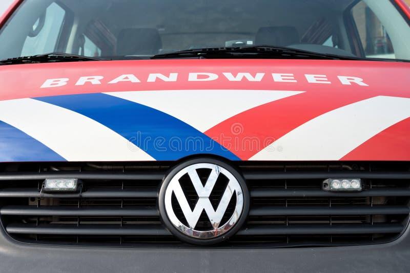 Holenderski pożarniczy silnik zdjęcie stock