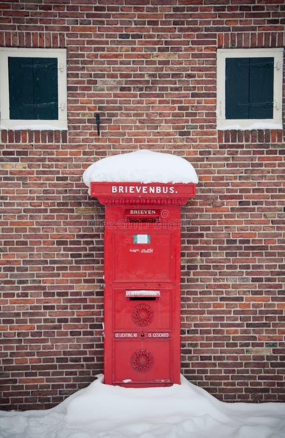 holenderski postbox zdjęcie stock