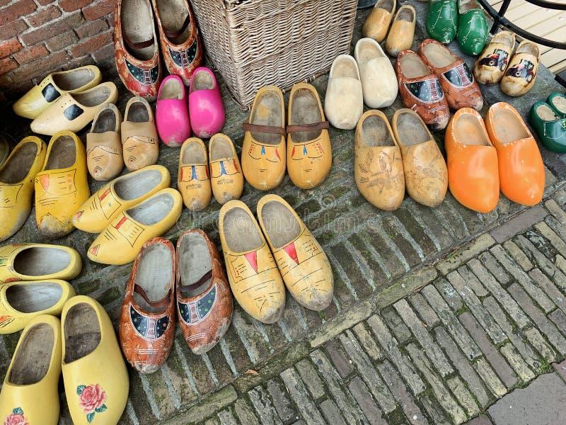 Holenderskie obuwie drewniane zdjęcia royalty free
