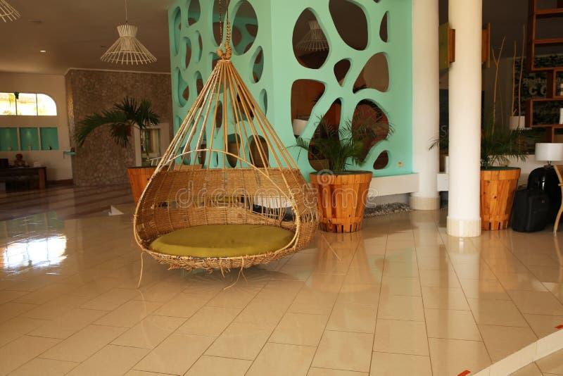 Holguin, Cuba, 11 25 intérieur 2018 d'hôtel dans les Caraïbe image libre de droits