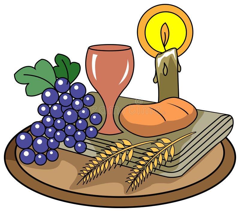 Holi communion ilustracji