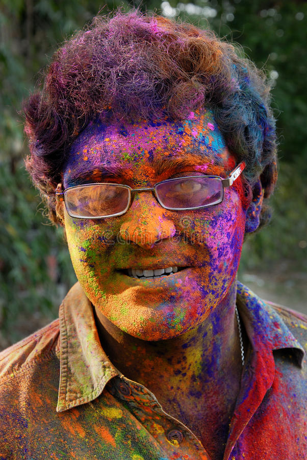 Download Holi Festival editorial image. Image of bengali, face - 19228000