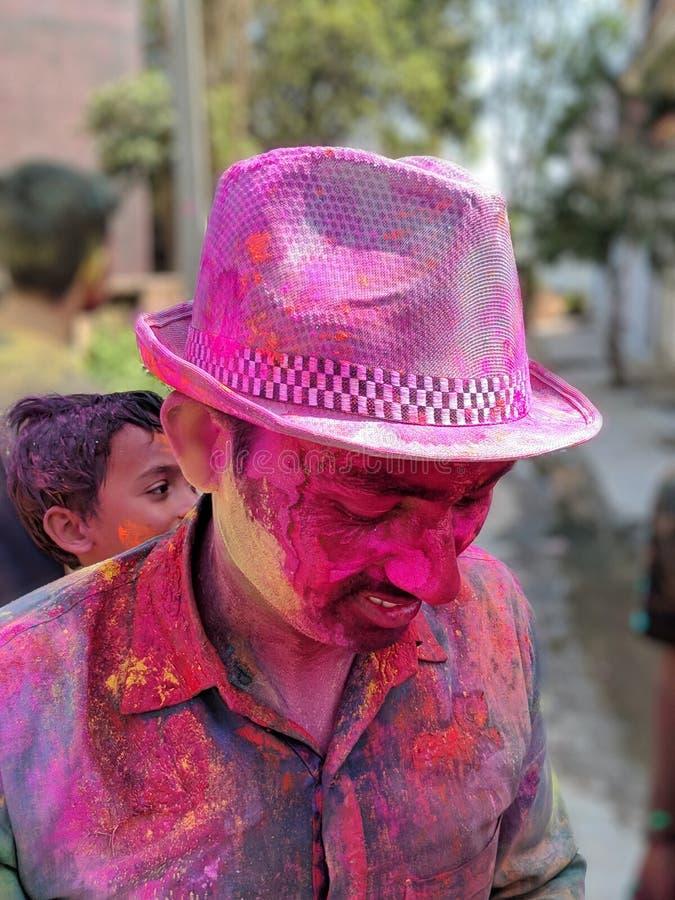 Holi festival. Colurs colours smile jiy joy summer stock images