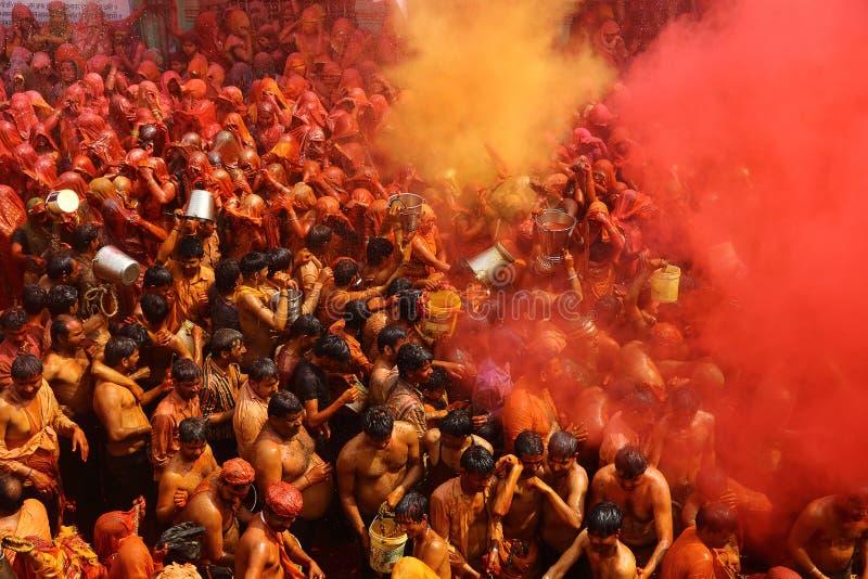 Holi - festival di colore in India immagine stock