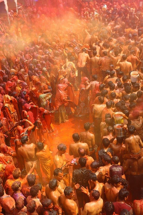 Holi - festival di colore in India immagini stock