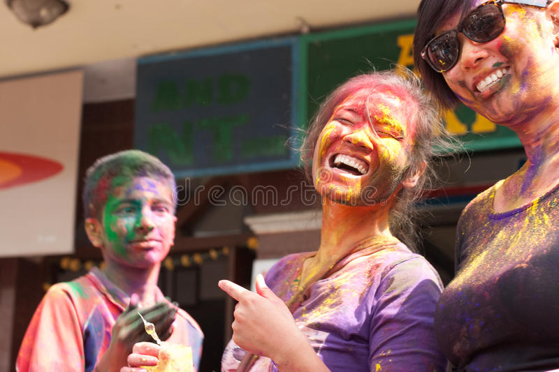 Download Holi Festival (Festival Of Colors) In Nepal Editorial Stock Photo - Image: 23892868