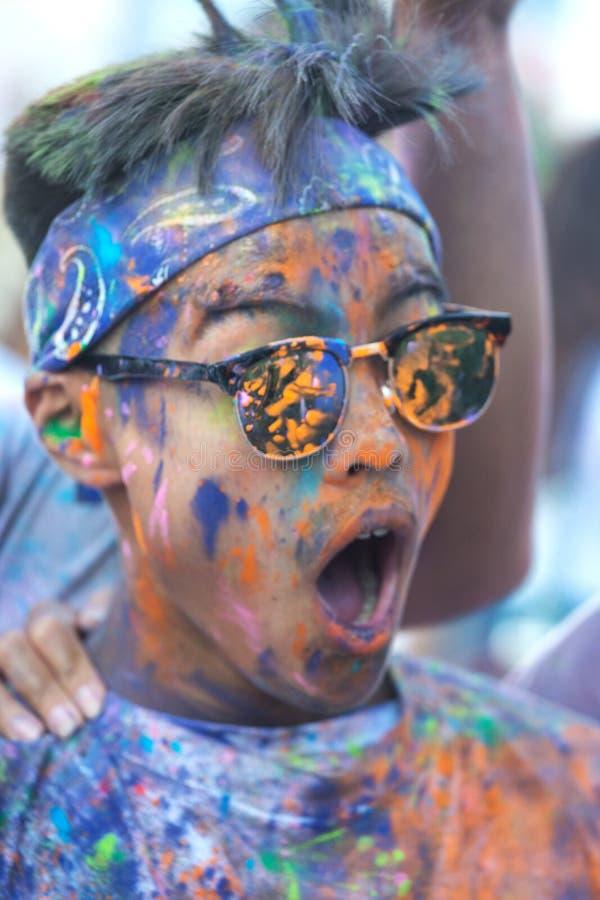 Holi festival stock photography