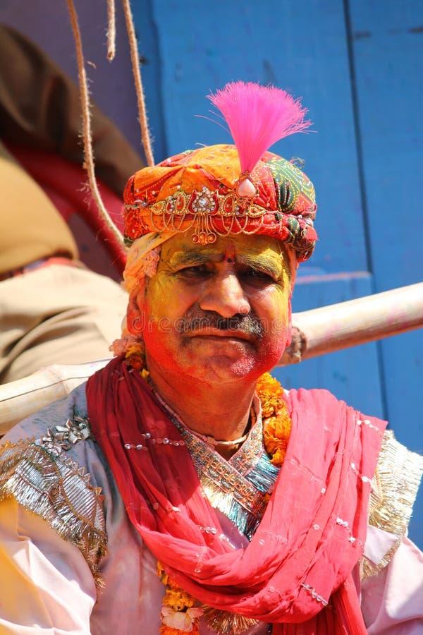 Download Holi festiwal w barsana zdjęcie stock editorial. Obraz złożonej z colours - 53789903