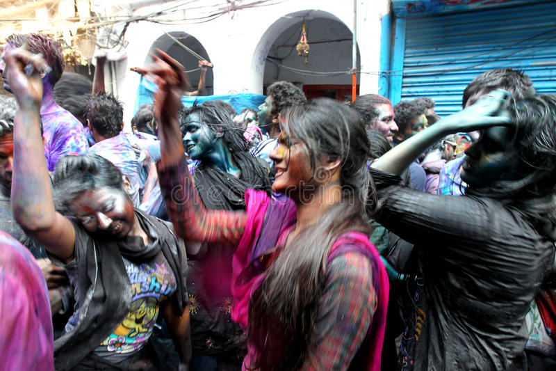 Holi van Hindus royalty-vrije stock foto's