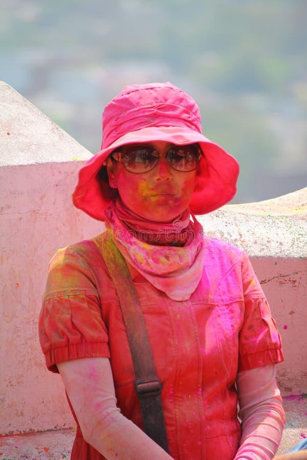 Download Holi w barsana obraz stock editorial. Obraz złożonej z kultura - 53790319