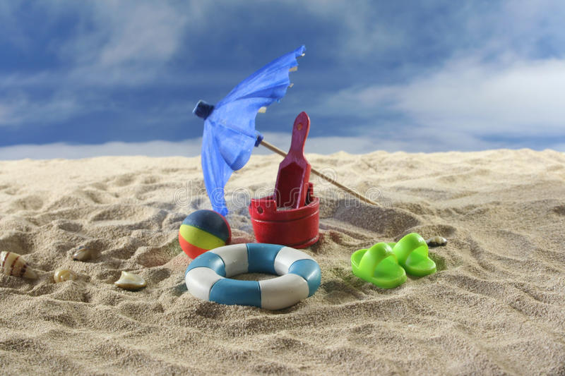 Download Holiday stock image. Image of travel, water, toys, beach - 14853841