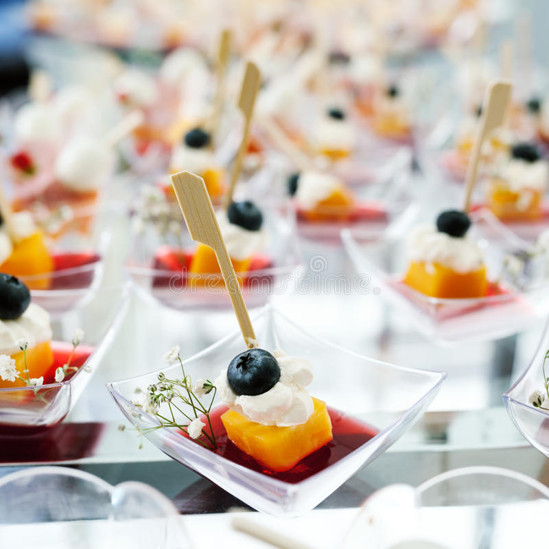 Holiday Appetizers royalty free stock photo