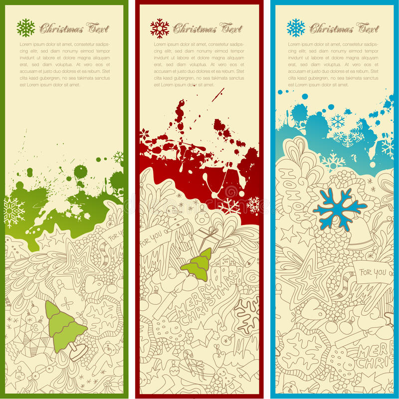 Download Holiday banners stock illustration. Image of ornate, pattern - 10330152