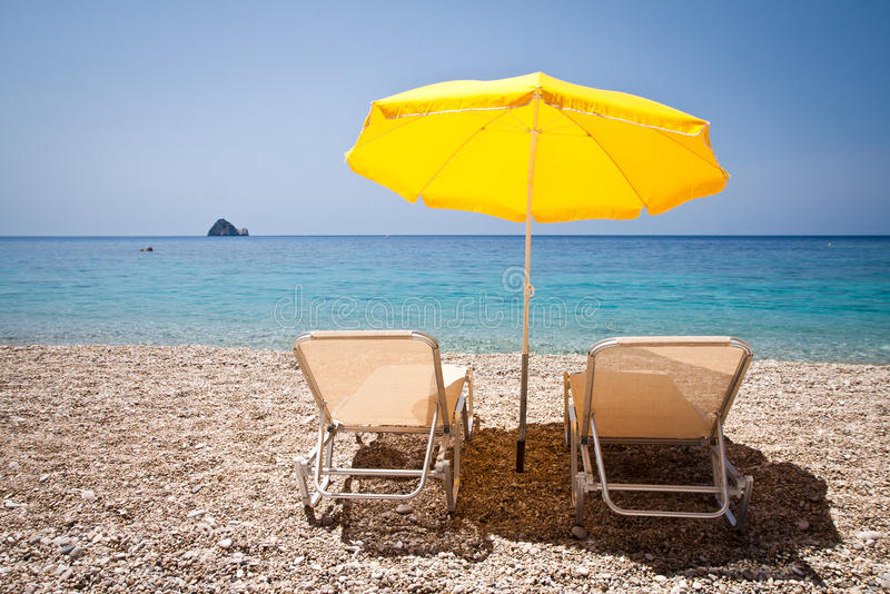 Download Holiday on beach stock image. Image of sunblock, sunbed - 29382773