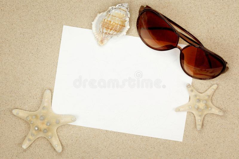 Holiday beach concept royalty free stock images