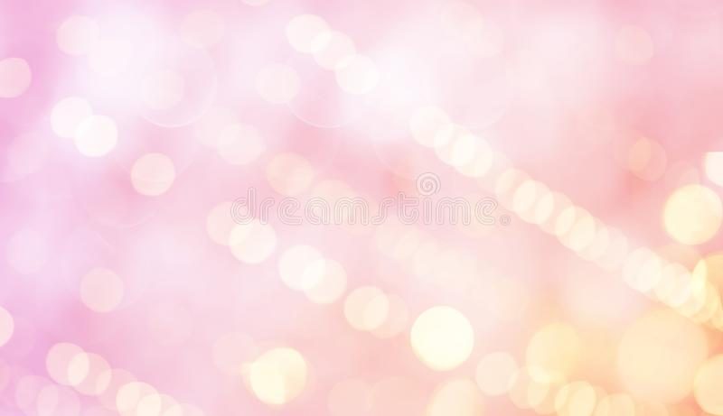 Holiday Beautiful Pink Background royalty free stock image