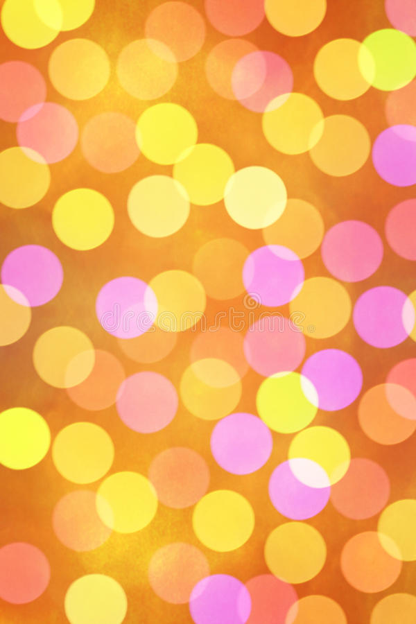 Holiday Bokeh Background Royalty Free Stock Photography