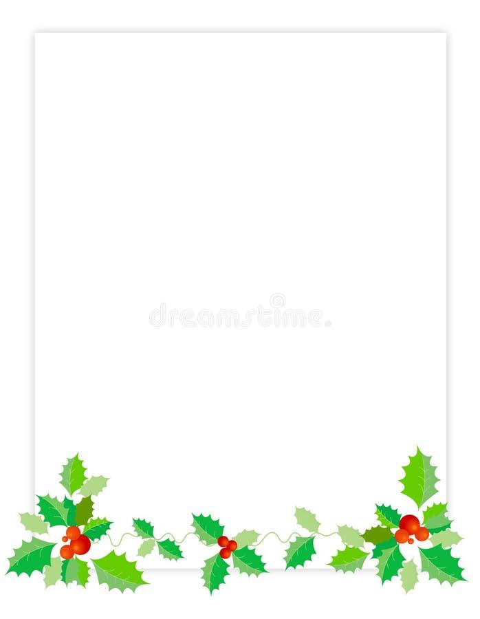 Holiday Border / Holly
