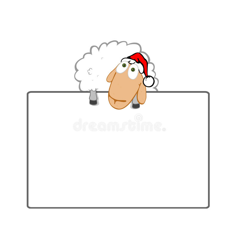 Download Holiday card stock illustration. Image of blank, cheerful - 10733350