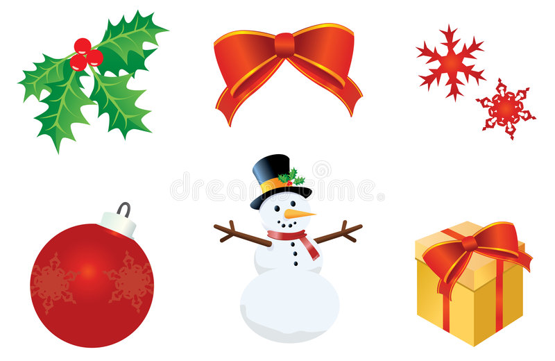 Download Holiday Collection stock illustration. Image of present - 7152352