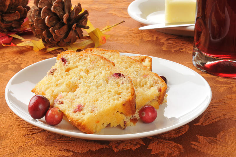 Download Holiday cranberry bread stock photo. Image of juice, cones - 27154564