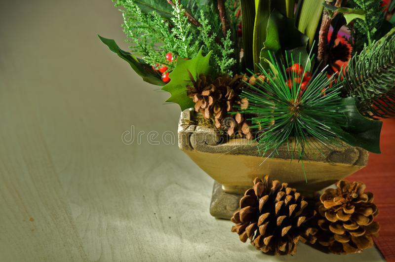 Holiday decorations royalty free stock image