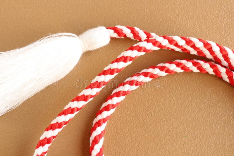 Holiday decorations stock image