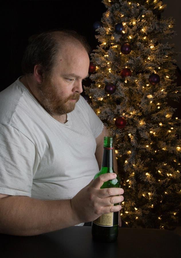 Holiday Depression royalty free stock image